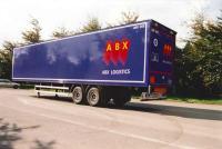 Cargo Van FRP semi-trailer