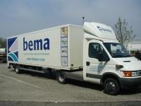 Cargo Van aluminium semi-trailer